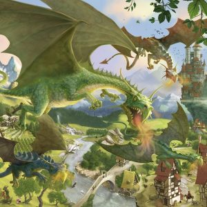 Trip the Dragon 150 Piece Ravensburger Puzzle