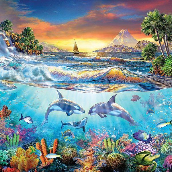 Under the Sea 1000 Piece Clementoni Puzzle
