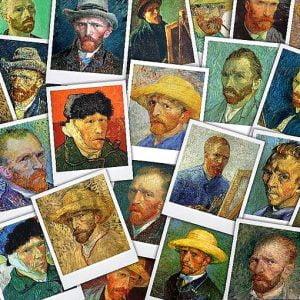 Van Gogh - Selfies 1000 Piece Puzzle