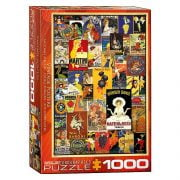 Vintage Posters 1000 Piece Eurographics Puzzle