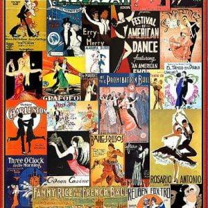 Ballroom Dancing 1000 Piece Puzzle