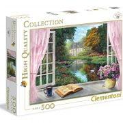 Tea Time - View on Garden 500 Piece Clementoni Puzzle