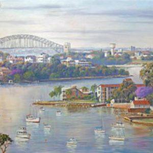 John Bradley - Sydney Harbour Moorings 500 Piece panorama Puzzle