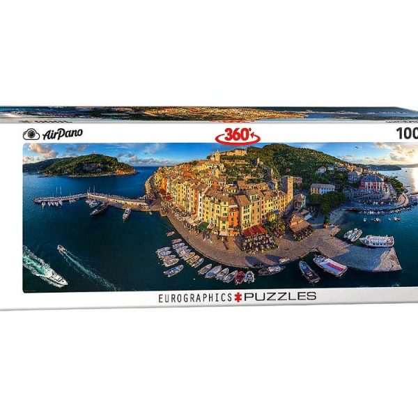 Airpano – Port Venere Italy 1000 Piece Panoramic Puzzle