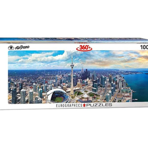 Airpano – Toronto Canada 1000 Piece Panoramic Puzzle