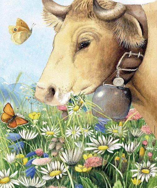 Bastin – Cow 1000 Piece Heye Puzzle