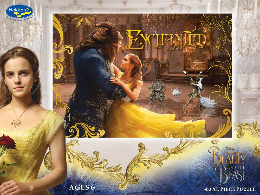 Disney - Beauty and the Beast 300 XL Piece Holdson Puzzle