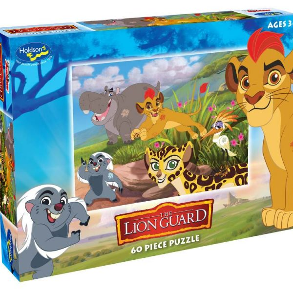 Disney – Lion Guard – Hakuna Matata 60 Piece Holdson Puzzle