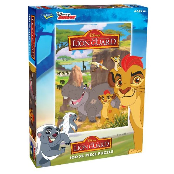 Disney – The Lion Guard 100 XXL Piece Holdson Puzzle