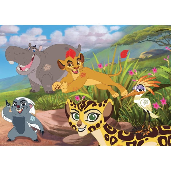 Disney - The Lion Guard - Hakuna Matata 60 Piece Holdson Puzzle
