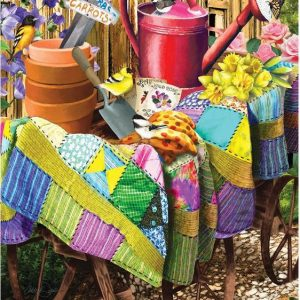 Gardening Birds 1000 Piece Sunsout Puzzle