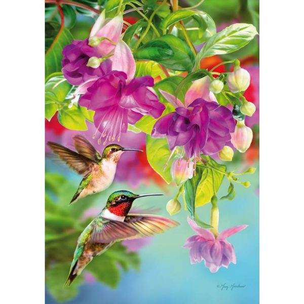 Hummingbirds 1000 Piece Piatnik Puzzle