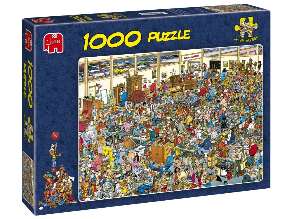 JVH ANTIQUE SHOW 1000 PIECE PUZZLE by Jumbo