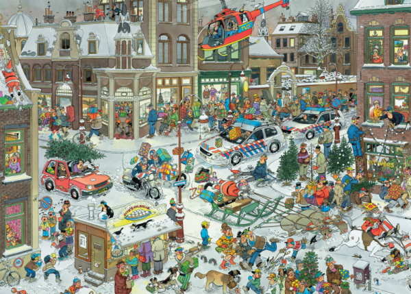 JVH Christmas 1000 Piece Puzzle by Jumbo