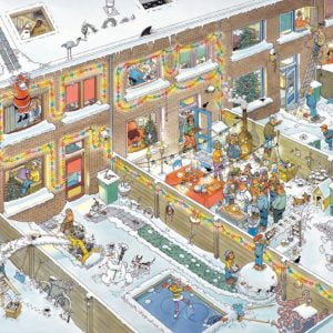 JVH Christmas Eve 1000 Piece Puzzle by Jumbo