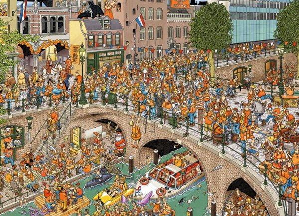 JVH Kings Day 1000 Piece Jumbo Jigsaw Puzzle