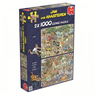 JVH Storm & Safari 2 x 1000 Piece Jigsaw Puzzle