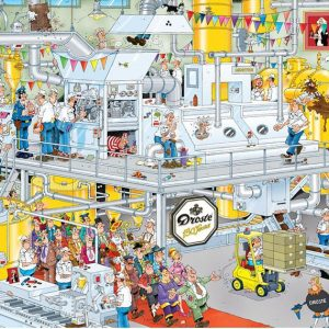 JVH The Chocolate Factory 1000 Piece Puzzle by Jumbo