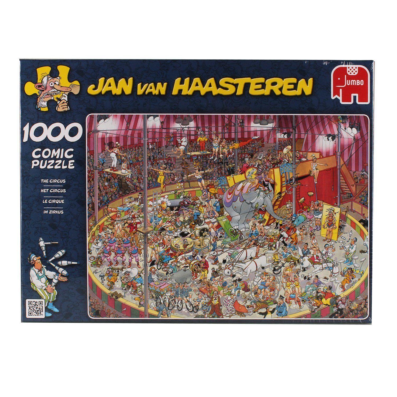 JVH The Circus 1000 Piece Jumbo Jigsaw Puzzle