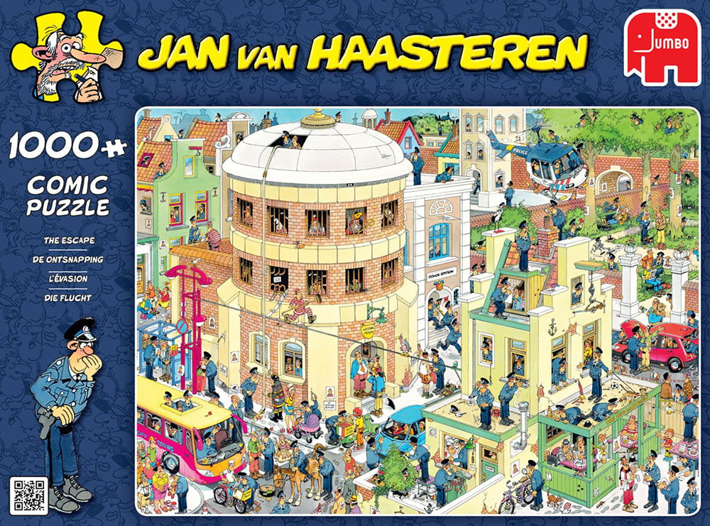 JVH The Escape 1000 Piece Jumbo Jigsaw Puzzle