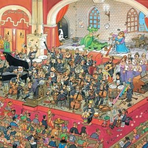 JVH The Opera 1000 Piece Jumbo Jigsaw Puzzle