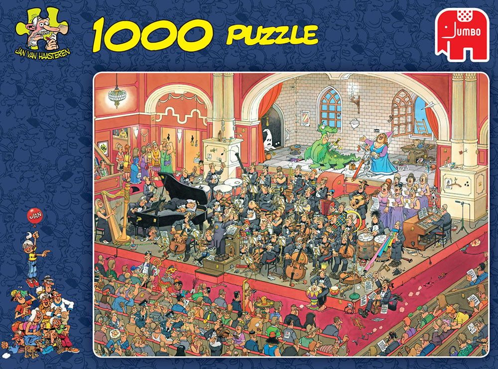 jvh the opera 1000 piece jigsaw puzzle by jumbo