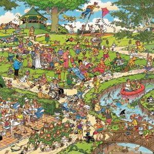 JVH The Park 1000 Piece Jumbo Jigsaw Puzzle