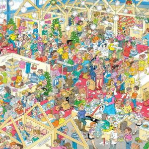 JVH Winter Fair 1000 Piece Jumbo Jigsaw Puzzle