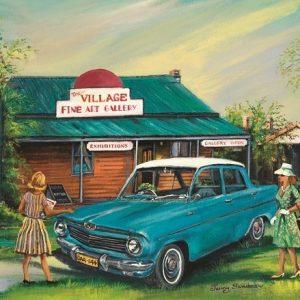 Jenny Sanders - Old Village Gallery 1000 Piece Puzzle