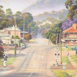 Main Street Patterson 1000 Piece Blue Opal Puzzle