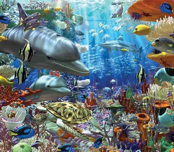 Ocean Wonders 3000 Piece Ravensburger Puzzle