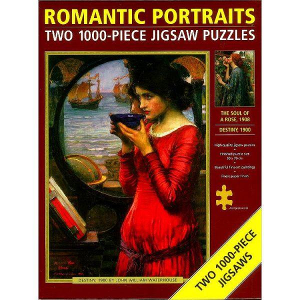 Romantic Portraits 2 x 1000 Piece Jigsaw Puzzles