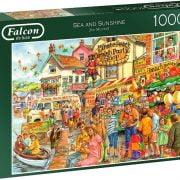Sea and Sunshine 1000 Piece Jigsaw Puzzle