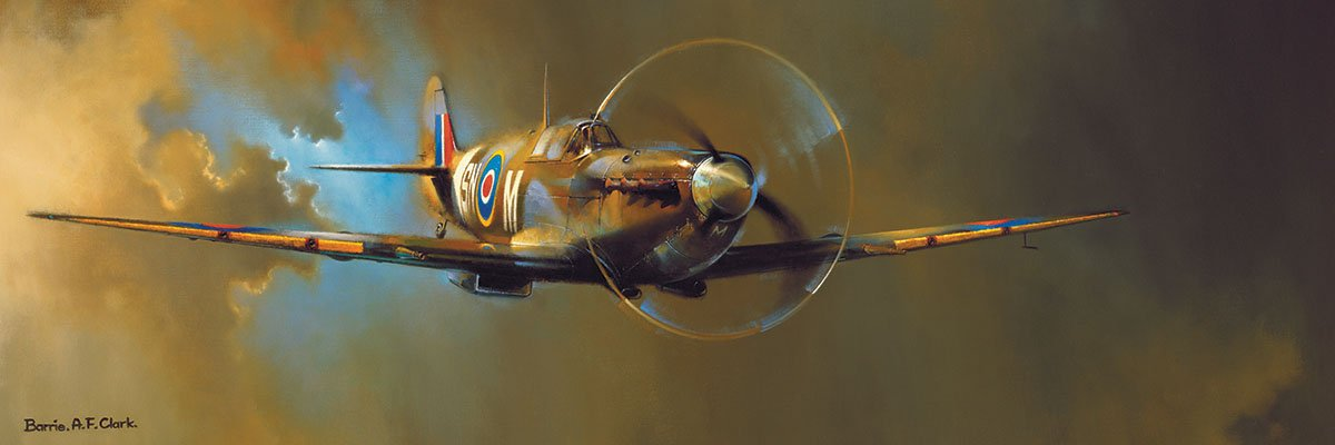 Spitfire 1000 Piece Panoramic Jigsaw Puzzle