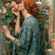 The Soul of a Rose, 1908 by John William Waterhouse 1000 Piece Puzzle