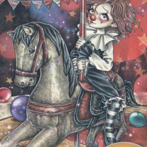 Victoria Frances - Misty Circus - Carousel 1000 Piece Puzzle