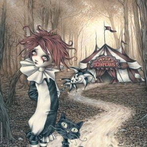 Victoria Frances - Misty Circus - Tent 1000 Piece Puzzle