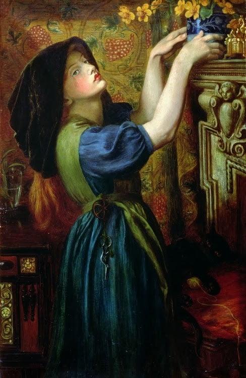 Victorian Portraits - Marigolds 1874 - 1000 Piece Jigsaw Puzzle
