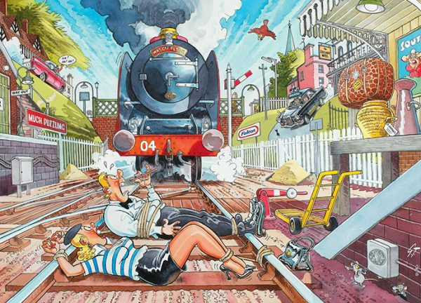 Wasgij Mystery 1 - The Wasgij Express 1000 Piece Puzzle