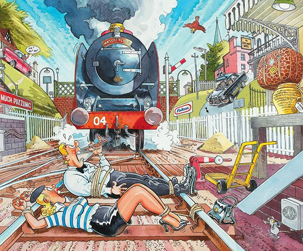 Wasgij Mystery 1 – The Wasgij Express 1000 Piece Puzzle