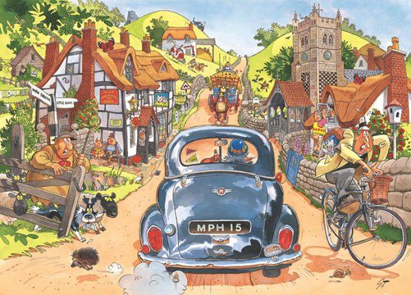 Wasgij Original 1 - Sunday Drivers 1000 Piece Puzzle