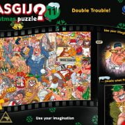 Wasgij XMAS 11 - Double Trouble 1000 Piece Holdson Puzzle