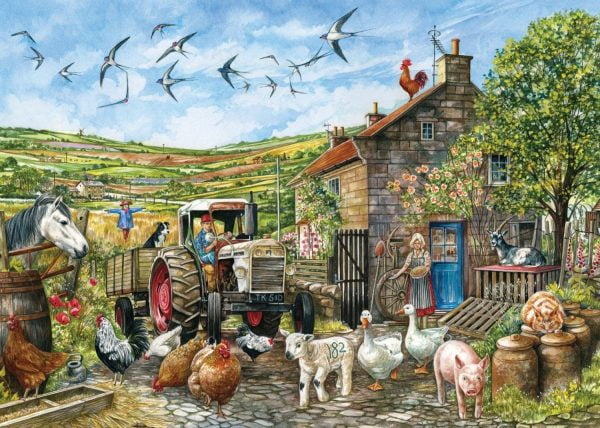 Another Day in the Yorkshire Dales 1000 Piece Falcon de luxe Puzzle