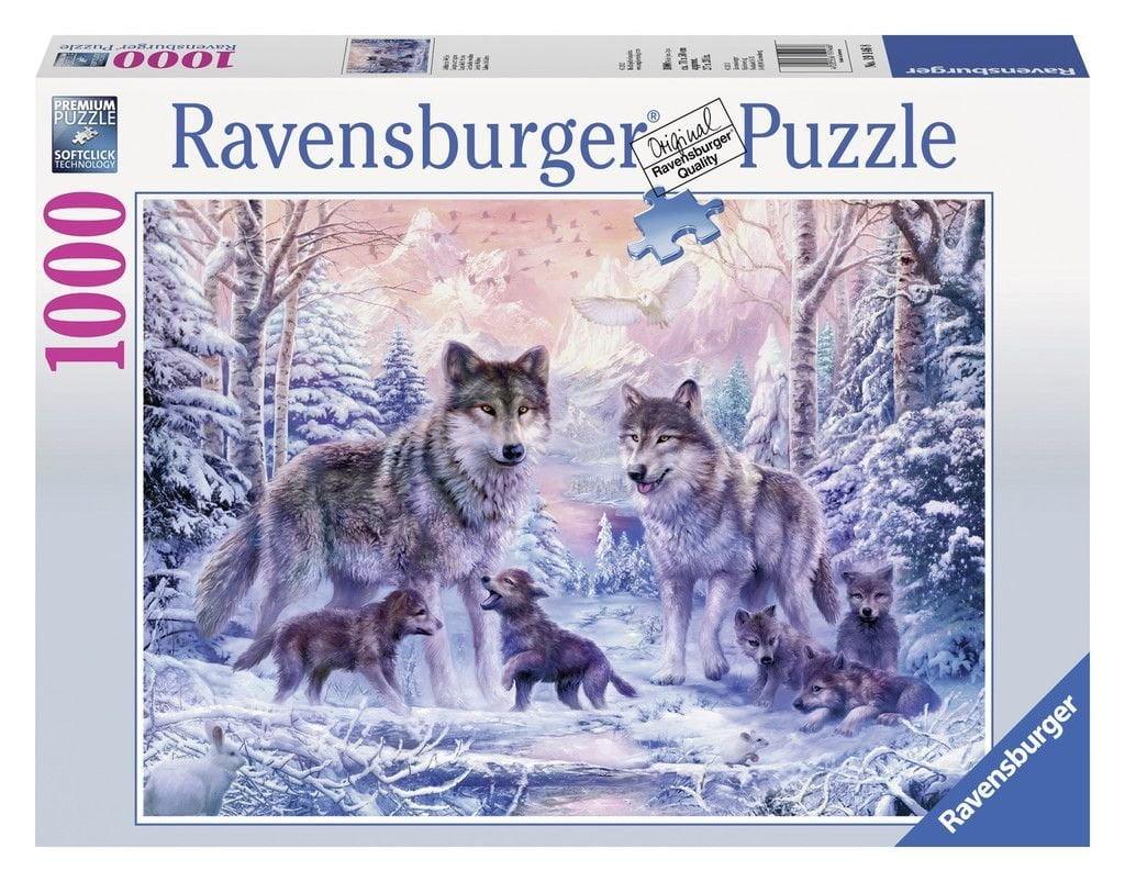 Arctic Wolves 1000 Piece Ravensburger Puzzle