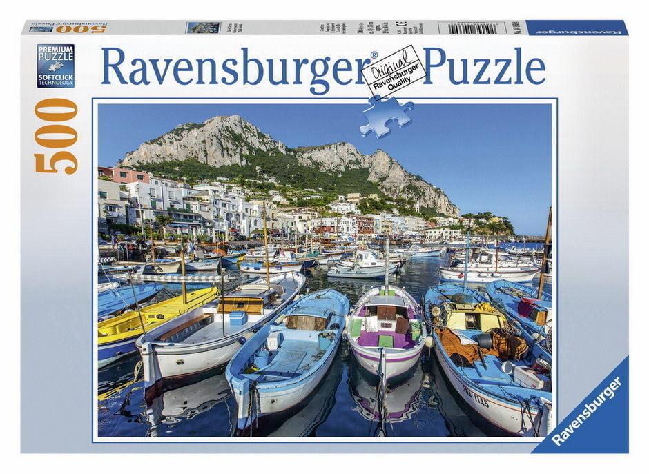 Beautiful Marina 500 Piece Jigsaw Puzzle