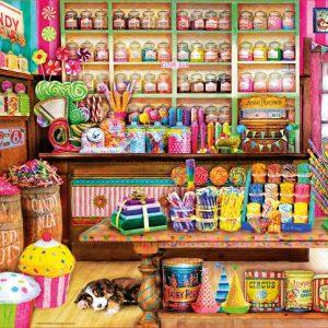 Candy Shop 1000 Piece Educa Puzzle