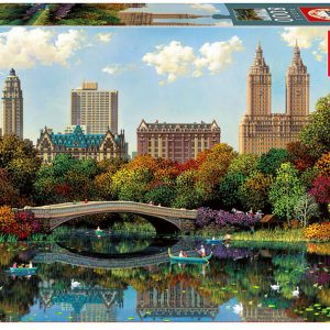 Central Park Bow Bridge 8000 Piece Puzzle