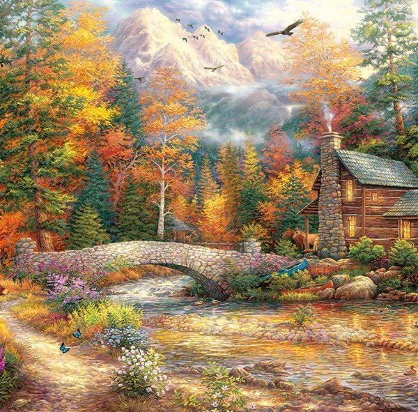 Chuck Pinson – Call of the Wild 1000 Piece Puzzle