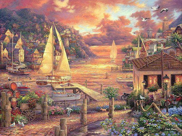 Chuck Pinson – Catching Dreams 1000 Piece Puzzle
