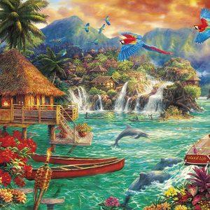 Chuck Pinson - Island Life 1000 Piece Puzzle